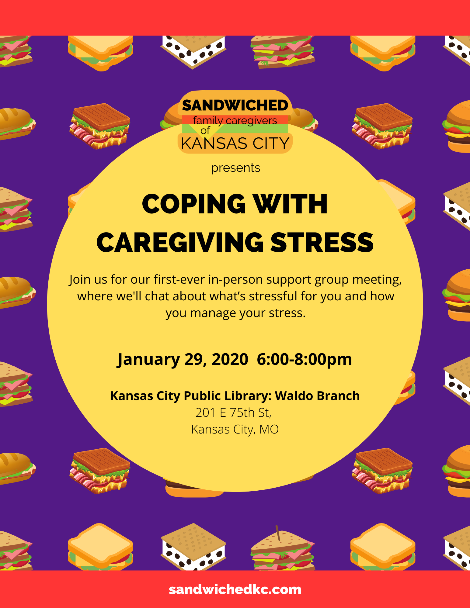 Coping with Caregiving Stress Support Group
