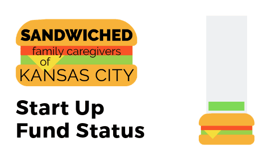 Sandwiched Family Caregivers of KC Start Up Fund Status